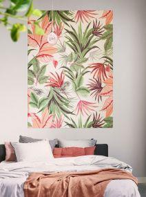 Ixxi Pink Jungle wanddecoratie 80 x 100 cm