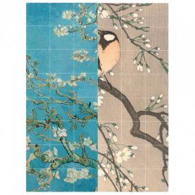 Ixxi Blossoms dubbelzijdige wanddecoratie 80 x 100 cm