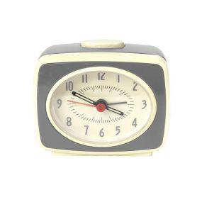 Kikkerland Classic Alarm clock wekker grijs