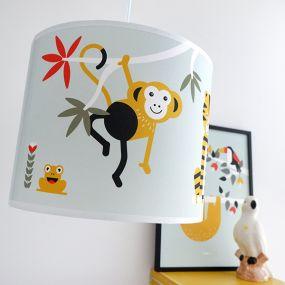 Bi&Li creaties hanglamp Jungle oud groen