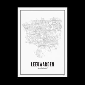 Wijck poster Leeuwarden A3 30 x 40
