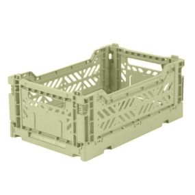 Folding Crates Mini Lime Cream Eef Lillemor Ay-kasa