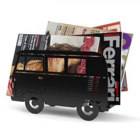 Balvi tijdschriftenrek Bus zwart