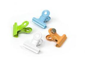 Trendform magneten Clip Graffa Mini messing set van 4