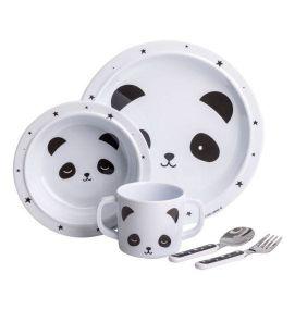Little Lovely company Panda kinderservies