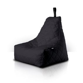 B-Bag zitzak Quilted zwart