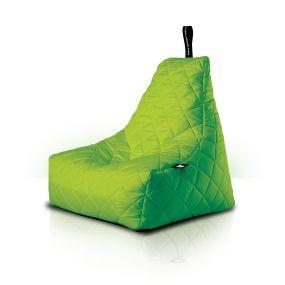 B-Bag zitzak Quilted lime groen
