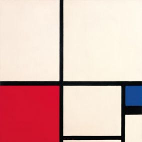 IXXI muurdecoratie Mondriaan Composition in Colours