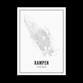 Wijck poster Kampen A4 21 x 30
