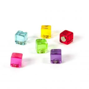 Trendform magneten Color Cube set van 6