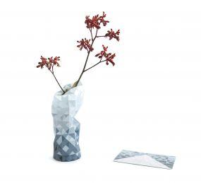 Paper Vase cover grijs gradient