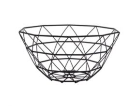 Pt Basket Diamond Cut iron black