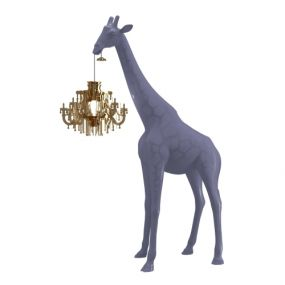 Qeeboo giraffe in love xs lamp Stormy Grey