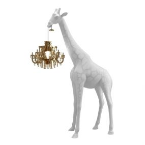 Qeeboo giraffe in love xs lamp wit