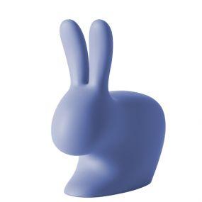 Qeeboo Rabbit Chair licht blauw 80 cm