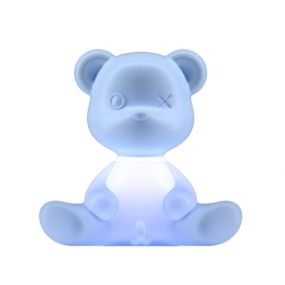 Qeeboo Teddy Boy lamp indoor plug Light Blue
