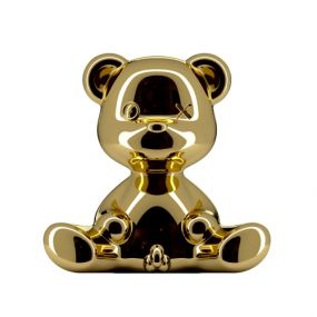 Qeeboo Teddy Boy Metal lamp indoor plug goud