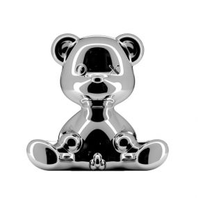 Qeeboo Teddy Boy Metal lamp indoor plug zilver