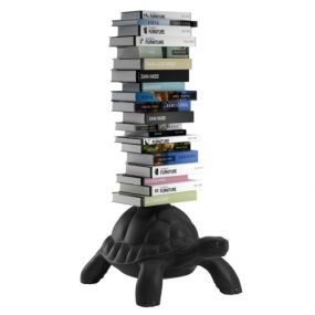 Qeeboo Turtle Carry Bookcase - Black