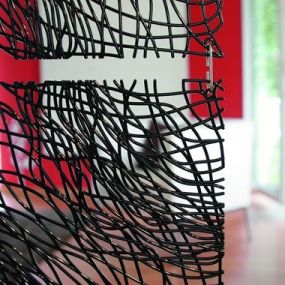 Koziol Silk roomdivider set 4 stuks