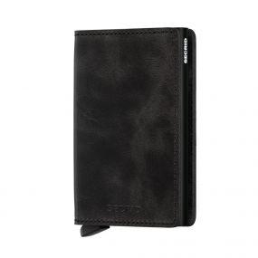 Secrid Slim Wallet vintage zwart