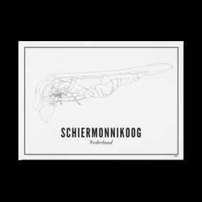 Wijck print Schiermonnikoog A3 30 x 40