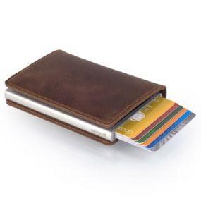 Secrid Slim Wallet  vintage bruin