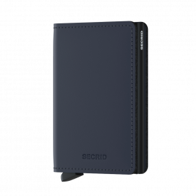 Secrid Slim wallet mat midnight blue
