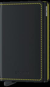 Secrid Slim wallet mat zwart rood