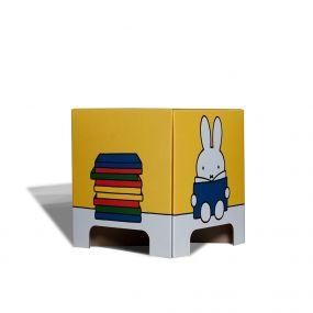 Mister Tody kartonnen kruk - Nijntje - Geel - boek