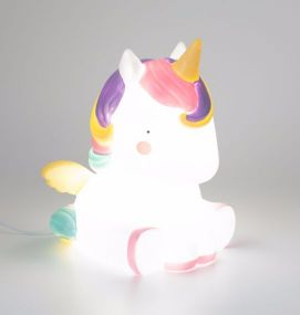 Unicorn tafellamp A Little Lovely Company