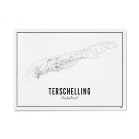 Wijck print Terschelling A4 21 x 30