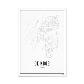Wijck print Texel De Koog A4 21 x 30
