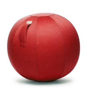 Vluv Leiv zitbal Ruby Red-H 70-75 cm