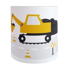 Bi&Li creaties wandlamp voertuigen oker