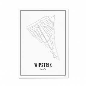 Wijck Wipstrik poster 40 x 50 cm