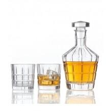 Leonardo Spiritii Karaf met 2 glazen (3-delig)