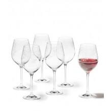 Leonardo Rode wijnglas 510ml Chateau - 6 stuks