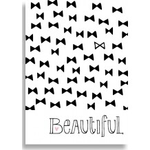 Funny Side Up poster 30 x 40 cm 'Beautiful'