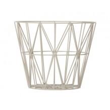 Ferm Living Wire Basket mand grijs