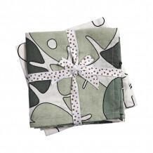 Done by Deer hydrofiele doeken 2-pack Tiny Tropics