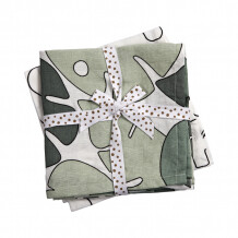 Done by Deer swaddle doeken 2-pack Tiny Tropics