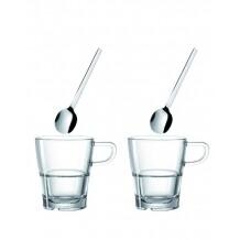 Leonardo Senso Koffieglazenset - 4-delig