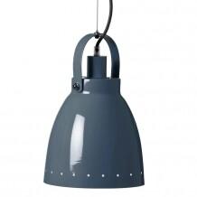 Retro metalen hanglamp donkerblauw Done by Deer