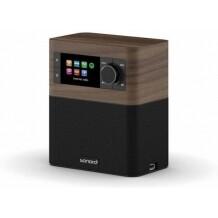 Sonoro Stream walnoot zwart smartradio