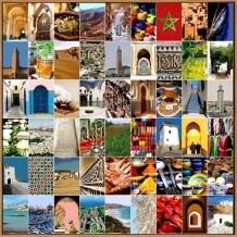 Naomi Art schilderij Marokko