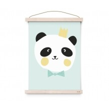 Eef Lillemor Lovely Animals King Panda Poster A3