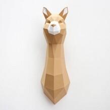 Assembli Alpaca paper kit DIY trofee