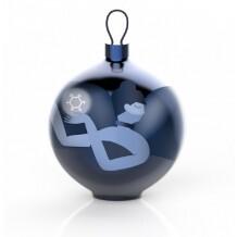 Alessi Blue Christmas kerstbal Ballerina