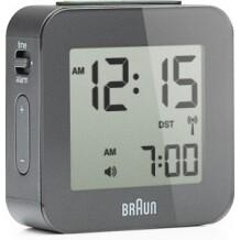 Braun digitale reiswekker BNC008 grijs Radio controlled